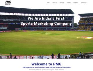 pmgsports.org screenshot