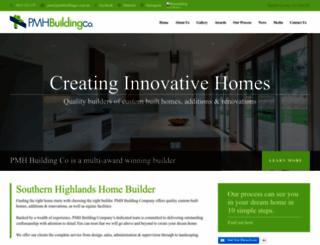 pmhbuildingco.com.au screenshot