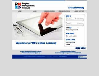 pmi.redvector.com screenshot