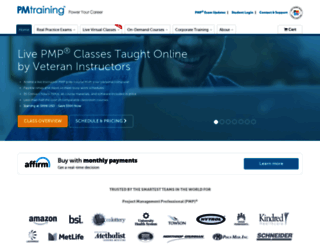 pmtraining.com screenshot