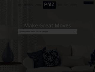pmz.com screenshot