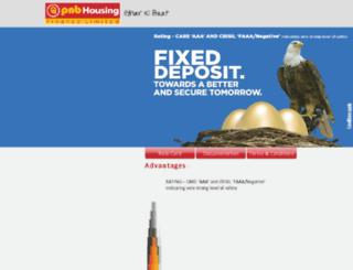 pnbhfl-fixeddeposit.com screenshot