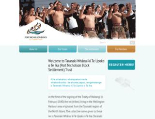 pnbst.maori.nz screenshot