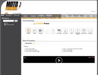 pneu.motofanzine.fr screenshot