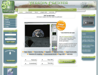 pnp-terraincreator.com screenshot