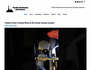 pnwadventures.com screenshot