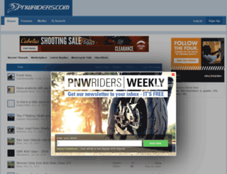 pnwriders.com screenshot