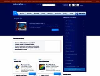 pobieralnia.org screenshot