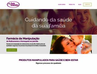 pocaoterapeutica.com.br screenshot