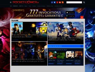pocketgamer.fr screenshot
