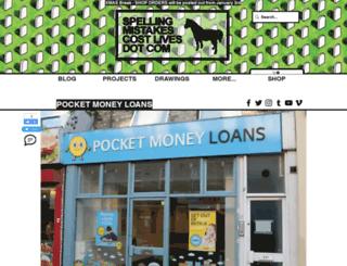 pocketmoneyloans.com screenshot