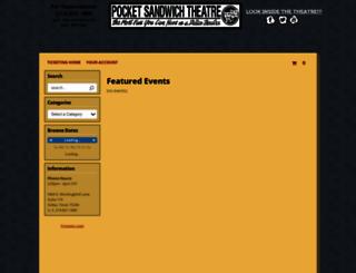 pocketsandwich.showare.com screenshot