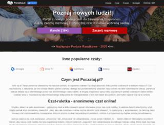 poczatuj.pl screenshot