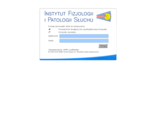 poczta.ifps.org.pl screenshot