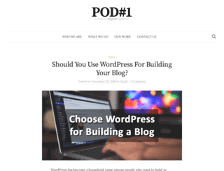 pod1.com screenshot