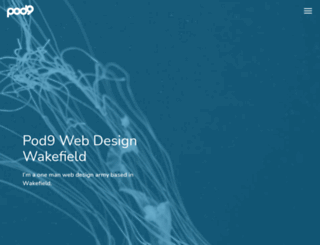 pod9.co.uk screenshot