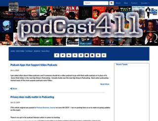 podcast411.libsyn.com screenshot