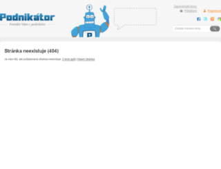 podnikator.cz screenshot
