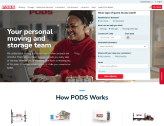 pods.com screenshot