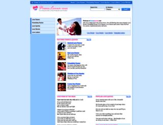 poemslovers.com screenshot
