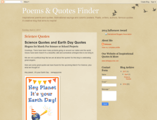 poemsquotesfinder.blogspot.com screenshot