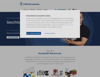 poeppelmann.com screenshot