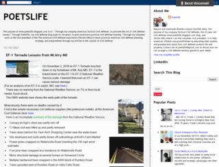 poetslife.blogspot.com screenshot