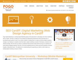 pogo-digital.co.uk screenshot
