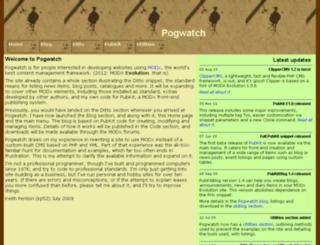 pogwatch.com screenshot