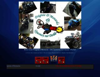 poigneedmotards.1fr1.net screenshot