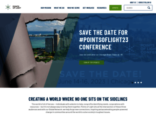 pointsoflight.org screenshot