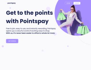 pointspay.com screenshot