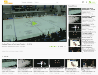 pointstreakfhl87.eduvision.tv screenshot