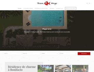 poisson-rouge-bonifacio.eu screenshot