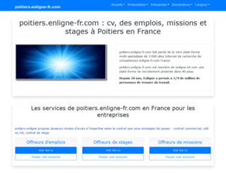 poitiers.enligne-fr.com screenshot
