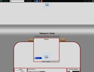 pokemo-x.forumeiros.com screenshot