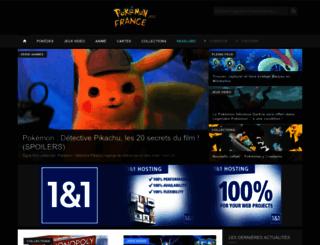 pokemon-france.com screenshot
