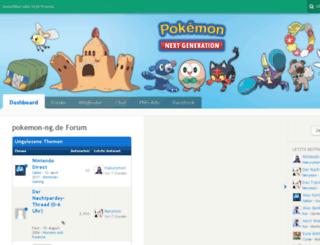 pokemon-ng.de screenshot