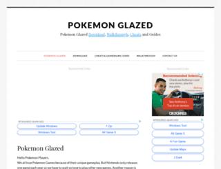 pokemonglazed.com screenshot