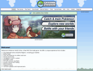 pokemonworldonline.net screenshot