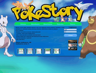 pokestory.pl screenshot