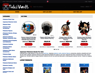 pokevault.com screenshot
