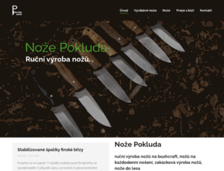 pokluda.eu screenshot