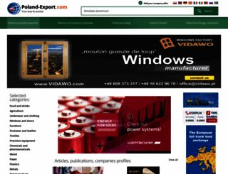 poland-export.com screenshot