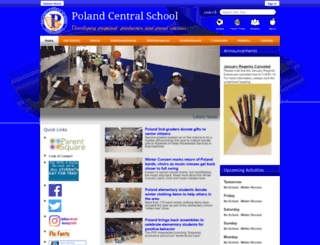 polandcsd.schoolwires.net screenshot
