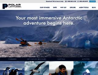 polar-latitudes.com screenshot