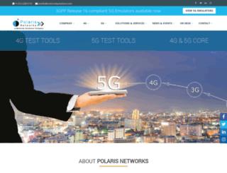 polarisnetworks.net screenshot