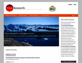 polarresearch.net screenshot