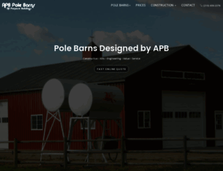 pole-barn.info screenshot