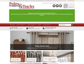 polesandtracks.co.uk screenshot